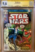 Han Solo 10 Cgc 9.6 Signed By Harrison Ford Star Wars Marvel Comic Signature