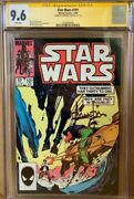 Han Solo 101 Cgc 9.6 Signed By Harrison Ford Star Wars Signature Series Marvel
