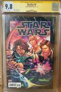Han Solo Cgc 9.8 Signed Harrison Ford Star Wars 56 Marvel Comic Signature