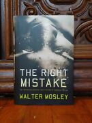 The Right Mistake Walter Mosley Signed Book Autograph