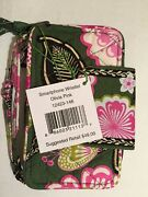 Vera Bradley Smartphone Wristlet In Olivia Pink New With Tags Free Shipping