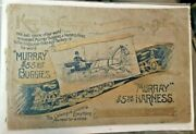 Rare Ca. 1900's Murry Buggies And Saddle Harness Catalog 164 Pages
