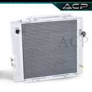 For 64 65 66 Ford Mustang Falcon Mercury Front Mount Aluminum Racing Radiator