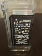 Jack Daniels Limited Edition Red Dog Saloon Empty Bottle Lot Of 12..