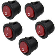 5-pack Hqrp On Off Power Switch For Hoover Upright Vacuums, 440003992 270046001