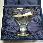 Faberge Crystal Vase New In The Box