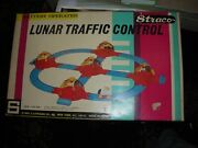 Yone Japan Straco Usa Lunar Traffic Control Battery Operated Space Toy Set