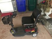 Go-go Lx Mobility Scooter Red Body Shroud Three Wheeler With Front/rear Baskets