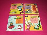 Set Of 4 Denny's The Jetsons Crayon Fun Game Books 1992 Rosie Elroy Judy Astro