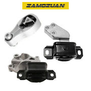 Right Engine Motor And Transmission Mount Set 3pcs. 2008-2015 For Smart Fortwo