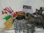 Marx Model Train Set Antique 50+ Track Pieces, Many Pieces See Photos.