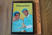 Abbott And Costello Whoand039s On First Address Contact Book Vintage By Nostalgia Lane