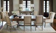Bernhardt Marquesa 9 Piece Wood Dining Set - Includes Table And 8 Chairs