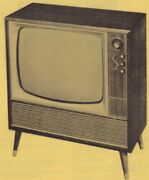 1961 Setchell-carlson 601c Tv Television Service Manual Photofact X159 Schematic