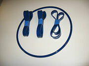 3 Blue Max Band Saw Tires And 1 Round Drive Belt For Shopmaster Bds-360 Band Saw