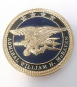 Admiral William Mcraven Special Operations Command Navy Seal Challenge Coin Real