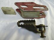 1991 Honda Cr125 Chain Guide Fredette Racing 91 Cr125 Cr 125 Left Peg And Guide