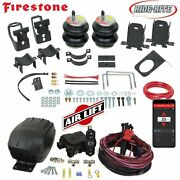 Firestone Ride Rite Air Bags And Airlift Air Compressor For 11-16 Ford F250 F350