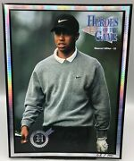 1997 Heroes Of The Game Tiger Woods 55 Diamond Edition 108/150 - Full Magazine