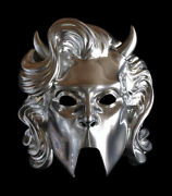 Ghost - Nameless Ghoulette Adult Chrome Resin Mask - Trick Or Treat Studios