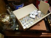 100 Rolls= 2500 Face Val Circulated Small Dollar Presidential Coin Collection