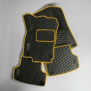 Premium Luxury Set Car Floor Mats For Audi A1 A3 A5 A6 A7 A8 Rs3 Rs4 Rs5 Rs6 Rs7