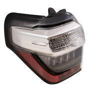 Tail Light Fits 2014-2020 Toyota 4runner Driver Left Side Combination Taillamp