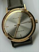 Citizen Deluxe Full Original Dead Stock Manual Vintage Watch 1961and039s Overhauled