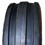 6.00-16 600-16 600x16 6.00x16 F-2 Tri 3 Rib Front Tractor Tire 6ply Tube Type
