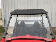 Polaris Rzr 170 1/4 Sr Polycarbonate Full And Rear Windshield And Roof 2009-2021