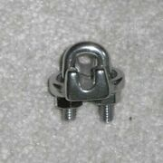 Heavy Duty Marine Grade 316 Stainless Steel 3/16 Wire Rope And Cable Clamps