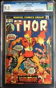 Thor 225 1st Appearance Firelord Pyreus Kril 1974 White Pg Cgc 9.2 0252755027