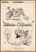 Jessie And The Weeze__bluth Brothers__orig. 1979 Trade Ad Promo__toby_brad___don