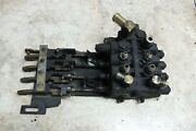 Hyster E55 Xm2-33 Fork Lift Forklift 4 Spool Hydraulic Control Valve Valves