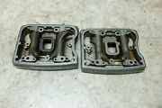 89 Harley Flhs Evo Electra Glide Sport Engine Head Rocker Arms Front Rear Boxes