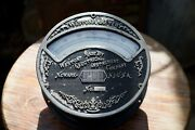 Large Antique American Industrial Weston Electrical Ammeter Ornate Meter 8 5/8andrdquo