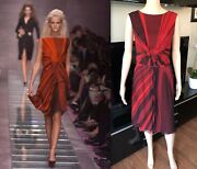 Gianni Versace Vintage Sexy Dress Sz 40 Iconic Highly Collectible