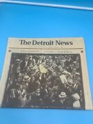 Detroit News Comm. Edition April 12th 1999 Final Opening Day