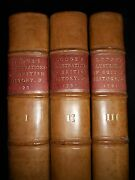 Illustrations Of British History, Biography And Manners - 1791-1st - 3 Volume Set