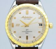 Citizen Auto Dater 777 Ados81301-d Automatic Vintage Watch 1960and039s