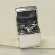 New Authentic Pandora Charm 2014 Limited Edition Club 791188d Bead W Suede Pouch