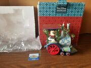 Disney Traditions Jim Shore Mickey Mouse All Aboard Train 4016585 W Box And Tags