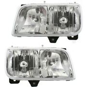 Headlight Lamp Left-and-right 15738657, 15738658 Lh And Rh For Gmc Yukon Escalade