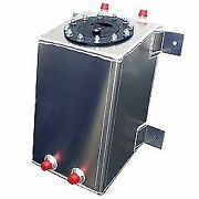 Rrc - 3 Gallon Custom Aluminum Fuel Cell Gas Tank With Mounting Bracket Tabs