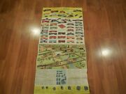 American Flyer By Gilbert 1958-'59 Original Fold Out Poster