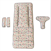 Keep Me Cosyandtrade Pram Liner Set + Harness And Buckle Cosy Paper Boat