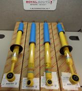 Toyota Tacoma 2008 - 2015 Front And Rear Bilstein Shocks Genuine Oem Oe
