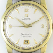 Omega Seamaster Calendar 2757-5sc Automatic Vintage Watch 1952and039s Oh