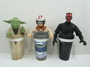 Star Wars Episode 1 Taco Bell Kfc Pizza Hut Cup And Topper With Straw Pg136b