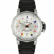 Corum Admiraland039s Cup Trophy 41mm Automatic Flags Steel Date Watch 082.830.20